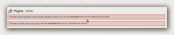 , Au dispărut două pluginuri, startachim blog