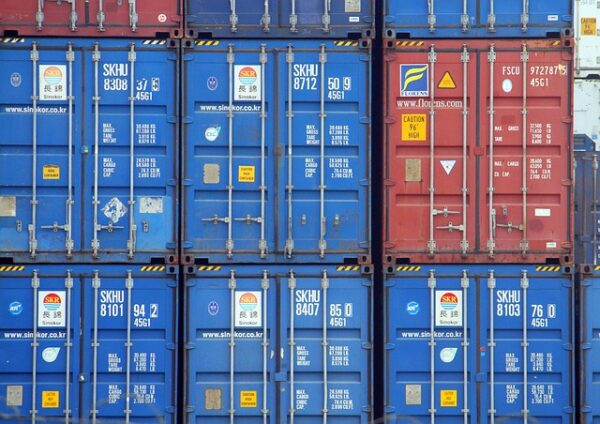 containers, freight, export