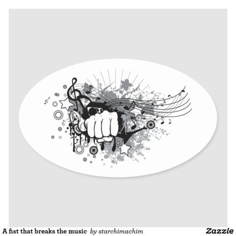 a fist that breaks the music oval sticker ra67a5f278d1c452682d255c023bc35d5 0ugdd 8byvr 1024.jpg
