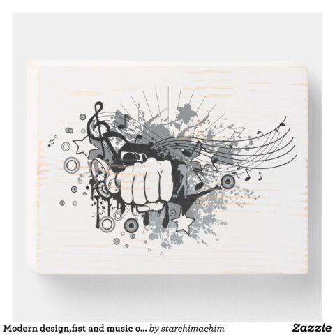 modern design fist and music on wooden box sign r4df0e5fe648245519bfc6ae5faab18b8 031hl 1024.jpg