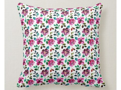 flowers painting in watercolor throw pillow rc96c2062de2b40eab324e4505e884ee0 6s309 8byvr 1024.jpg